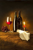 Wine composition Stock Photo