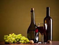 Wine Composition Stock Photography