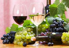 Wine composition Royalty Free Stock Image
