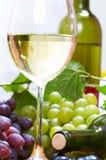 Wine composition stock photo