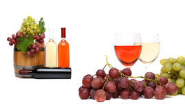 Wine composition. Stock Image