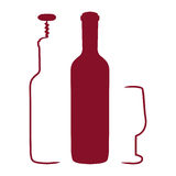 Wine concept Royalty Free Stock Photography