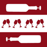 Wine concept Royalty Free Stock Photos