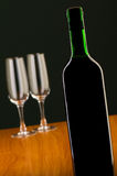 Wine concept with gradient Stock Image
