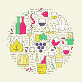 Wine Concept Royalty Free Stock Image