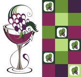 Wine concept Stock Images