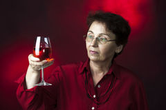 Wine Control Expert Royalty Free Stock Photography