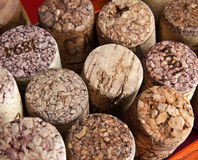 Wine cork. A few wine corks as a background Stock Photography