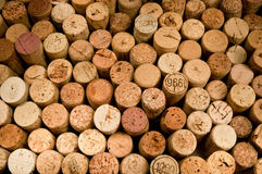 Wine cork. S as a background Stock Images