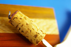 Wine cork Stock Image