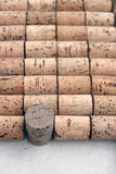 Wine cork background Stock Image