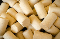 Wine cork background. Wine cork abstract pattern background space for text Stock Photo