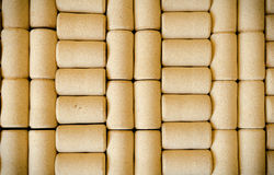 Wine cork background. Wine cork abstract pattern background space for text Royalty Free Stock Photos