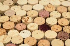Wine cork background Royalty Free Stock Photo