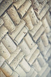 Wine Cork Background Stock Photography
