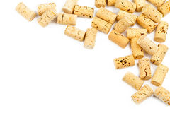 Wine cork border Stock Photo