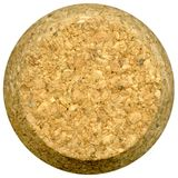 Wine cork front Stock Images