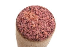 wine cork isolated stock images