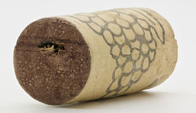 Wine Cork Macro Shot Royalty Free Stock Photo