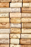 Wine Cork Pattern Background Royalty Free Stock Photo
