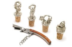 Wine cork and stopper Stock Photos