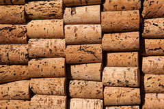 Wine cork texture Stock Photography