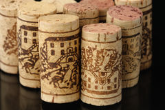 Wine corks 1 Royalty Free Stock Images