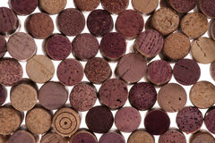Wine Corks background Stock Photos