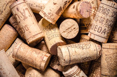 Wine corks background Royalty Free Stock Photography