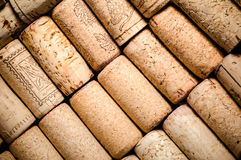 Wine corks background Stock Images