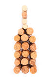 Wine corks bottle Stock Photo