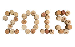 Wine corks closeup 2015 d Royalty Free Stock Photos
