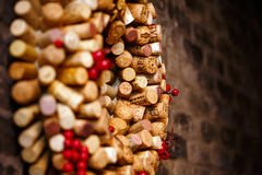 Wine corks collection royalty free stock photography