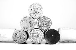 Wine corks in detail Stock Photo