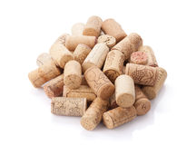 Wine corks heap Royalty Free Stock Images