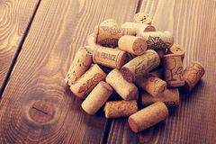 Wine corks heap Royalty Free Stock Photography