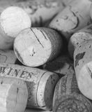 Wine Corks Mono Stock Photography