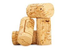 Wine corks. Pile of  brand new wine corks Stock Images