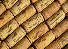 Wine corks Stock Image