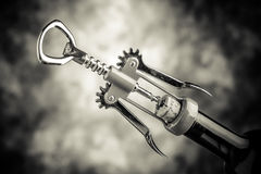 Wine corkscrew Royalty Free Stock Photography