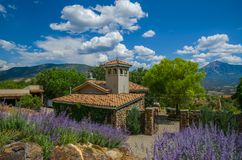 Wine Country. Paonia Colorado and its many wineries Stock Photos