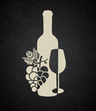 Wine cover Royalty Free Stock Images