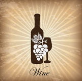 Wine cover Royalty Free Stock Photo