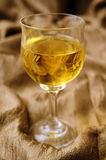 Wine in crystal glass Royalty Free Stock Photo