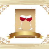 Wine cup Royalty Free Stock Images