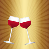 Wine cup Stock Photography