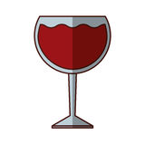 wine cup drink isolated icon Royalty Free Stock Images