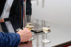 Wine Degustation Stock Photo