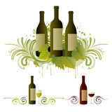 Wine design element Stock Image