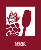 Wine design Royalty Free Stock Image